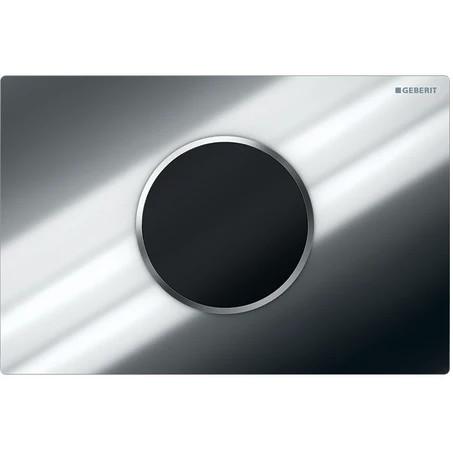 Plaque de déclenchement infrarouge Geberit Sigma10 / Chromé brillant