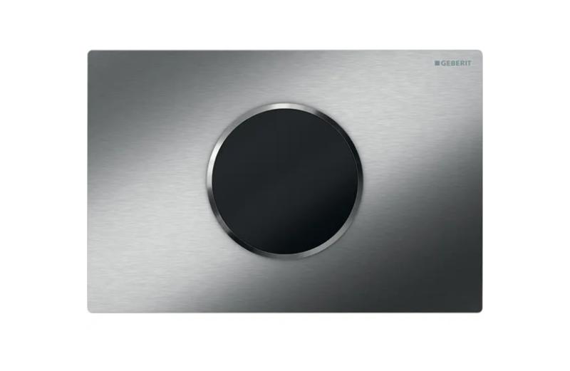 Plaque de déclenchement infrarouge Geberit Sigma10 / Acier inoxydable brossé