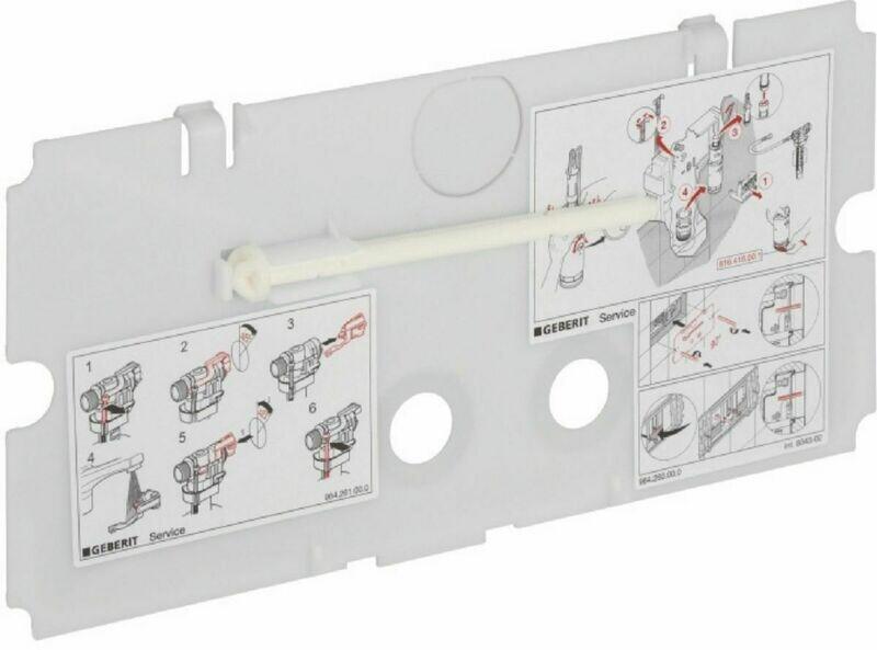 Plaque de protection Geberit pour réservoir à encastrer Twinline 8 cm