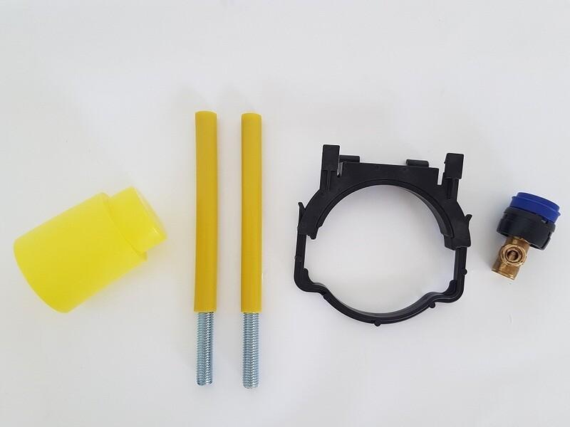 Accessoires de montage pour réservoir encastré Geberit Duofix Delta 12 cm