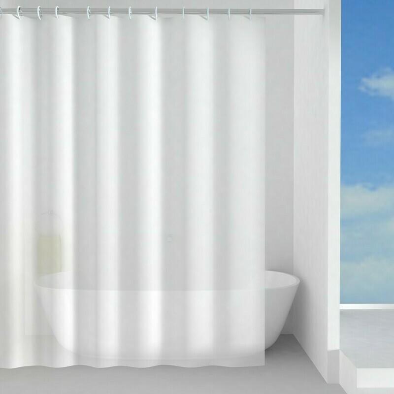 Rideau de douche Basic 180 x 200 cm