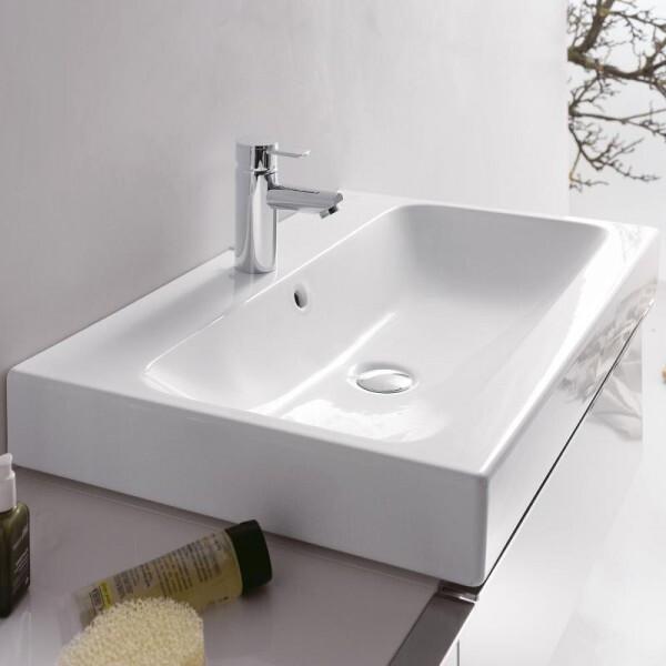 Plan-vasque à poser Geberit iCon 90 cm