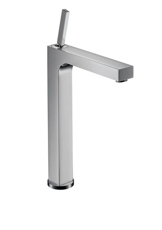 Mitigeur de lavabo AXOR Citterio 280 surélevé pour vasque libre avec tirette et vidage