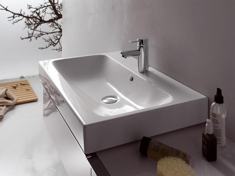 Plan-vasque Geberit iCon 75 cm