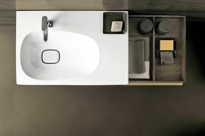 Plan-vasque Geberit Citterio 75 cm