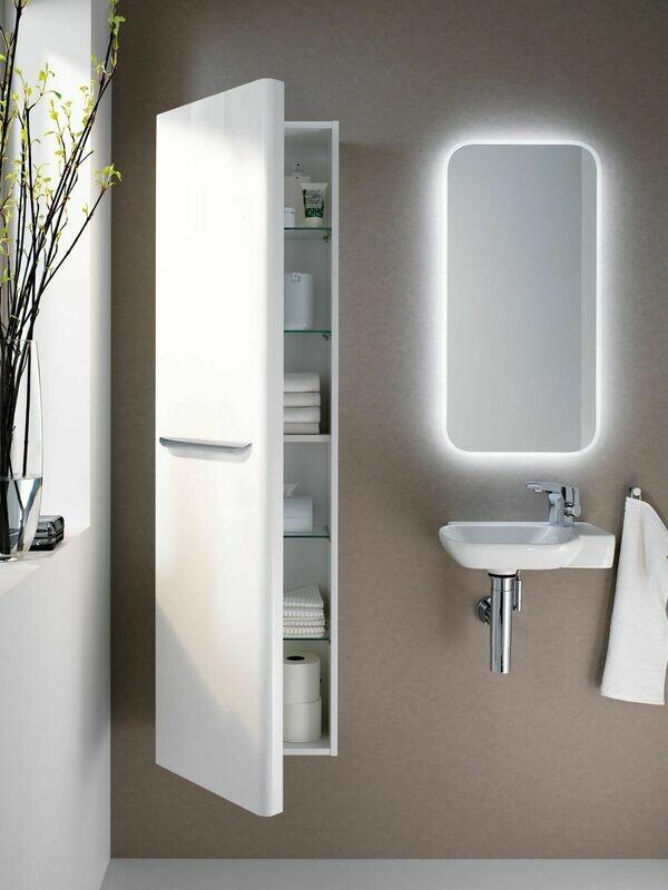 Miroir lumineux Geberit myDay 40 cm avec éclairage indirect