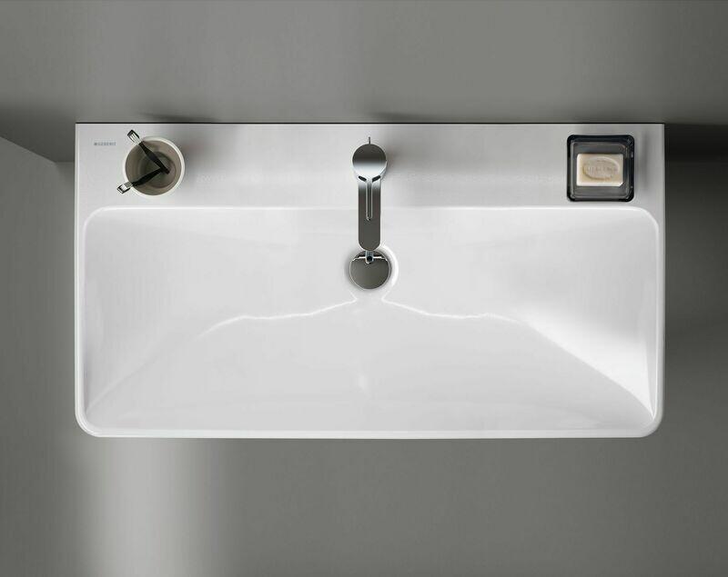 Plan-vasque Geberit Smyle Square 90 cm