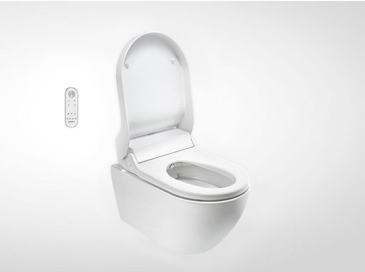 Abattant lavant Geberit AquaClean Tuma Comfort avec télécommande