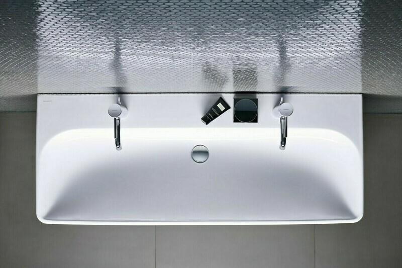 Plan-vasque Geberit Smyle Square 120 cm
