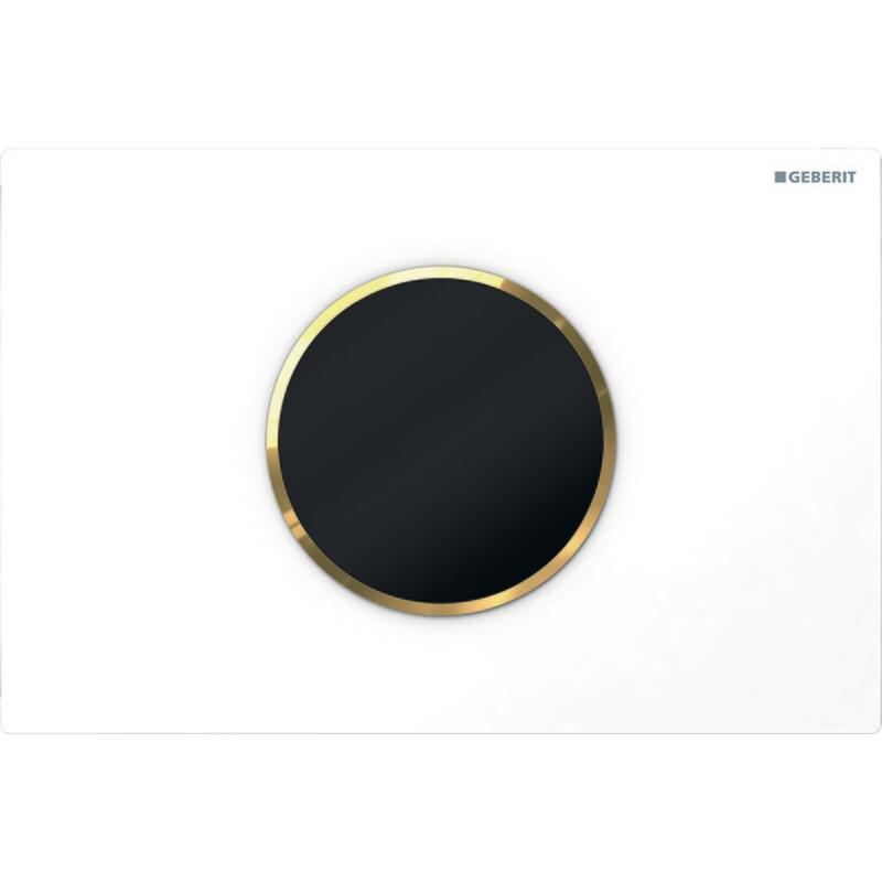 Plaque de déclenchement infrarouge  Geberit Sigma10 / Blanc doré