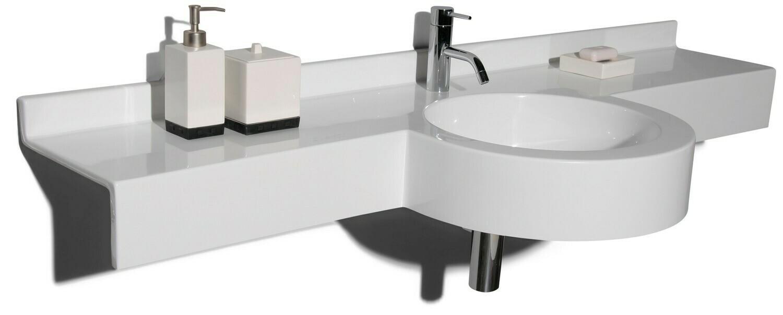 Plan-vasque Maido 170 cm