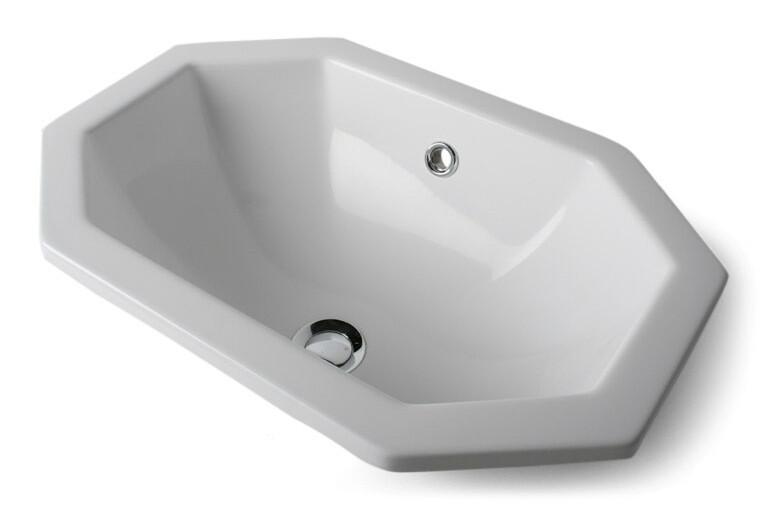 Vasque encastrable Rubis 52,5 cm