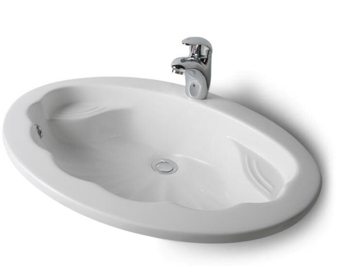 Vasque encastrable Coquille 64,5 cm