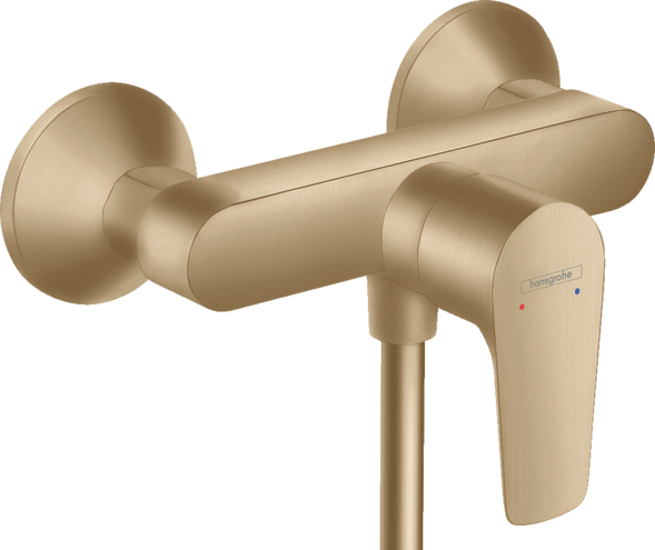 Mitigeur de douche Hansgrohe Talis E en bronze brossé