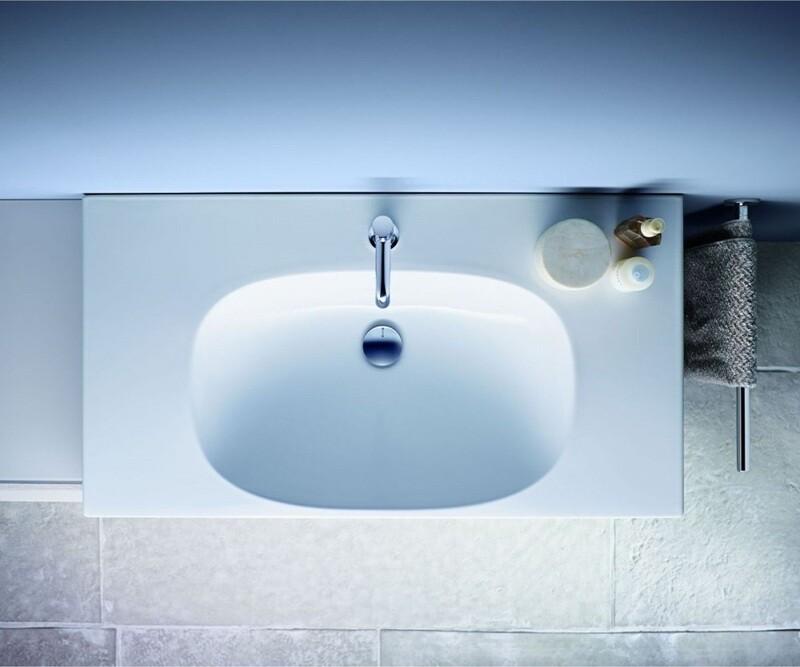 Plan-vasque Geberit Acanto 90 cm