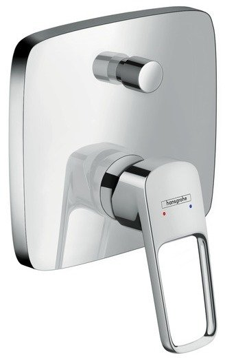 Set de finition pour mitigeur de bain / douche encastré Hansgrohe Loop