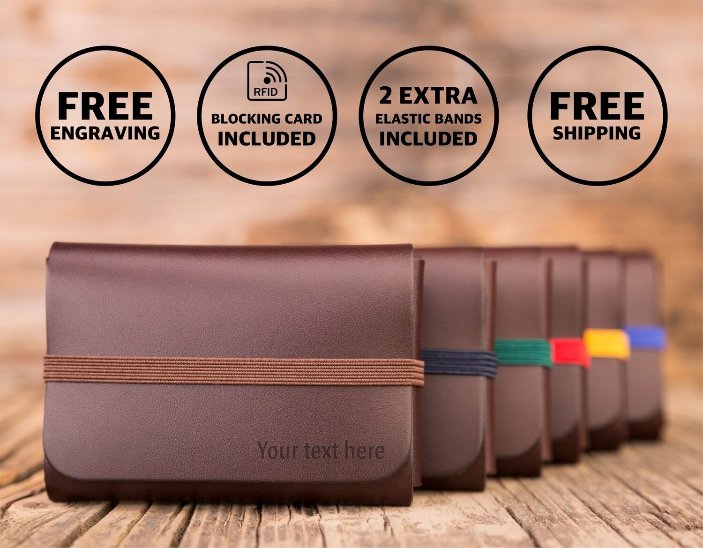 SINGULAR LEATHER™ Wallet - color: BROWN
