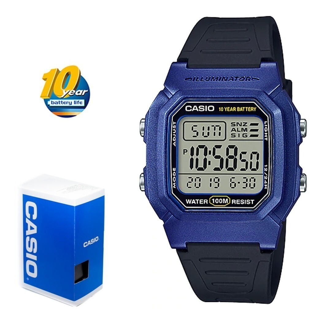 RELOJ Casio digital unisex w-800hm-2av