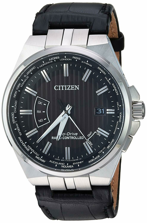 Reloj Hombre automático Citizen Eco-Drive CB0160-00E Men's A-T World Time Perpetual Calendar 42mm Watch CB0160-00E