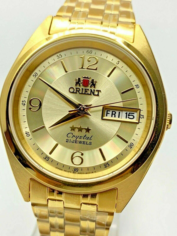 Reloj automatico Orient FAB0000CC UNISEX correa acero