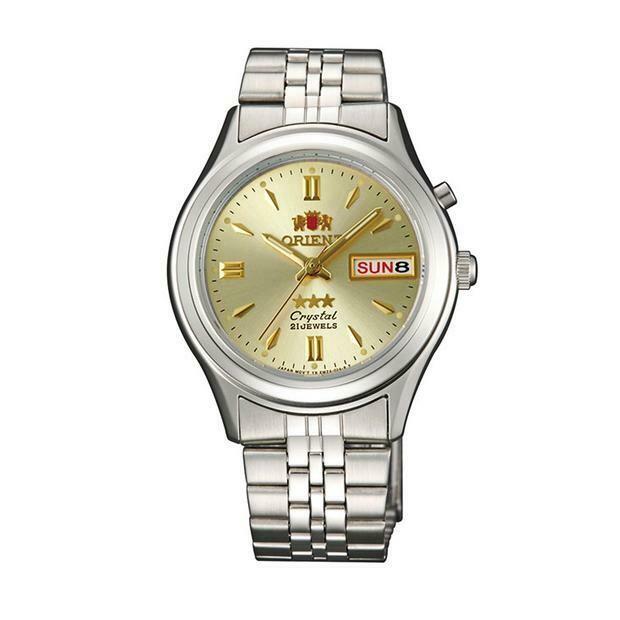 Reloj Automático Hombre Orient 3 Star FEM0301WC Correa Acero