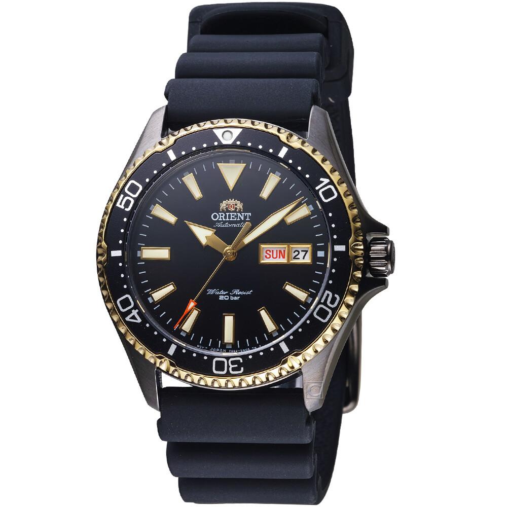 Reloj Automático Hombre Buceo Orient Kamasu RA-AA0005B correa goma