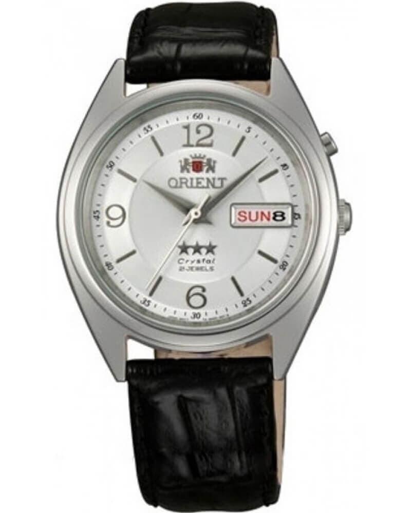 Reloj Automático Hombre Orient 3 Star FAB0000KW Correa cuero