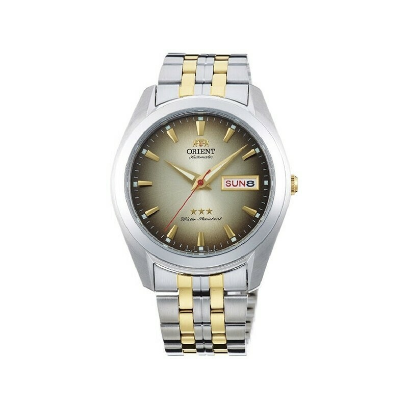 Reloj Automático Hombre Orient Tristar RA-AB0031G gris acero
