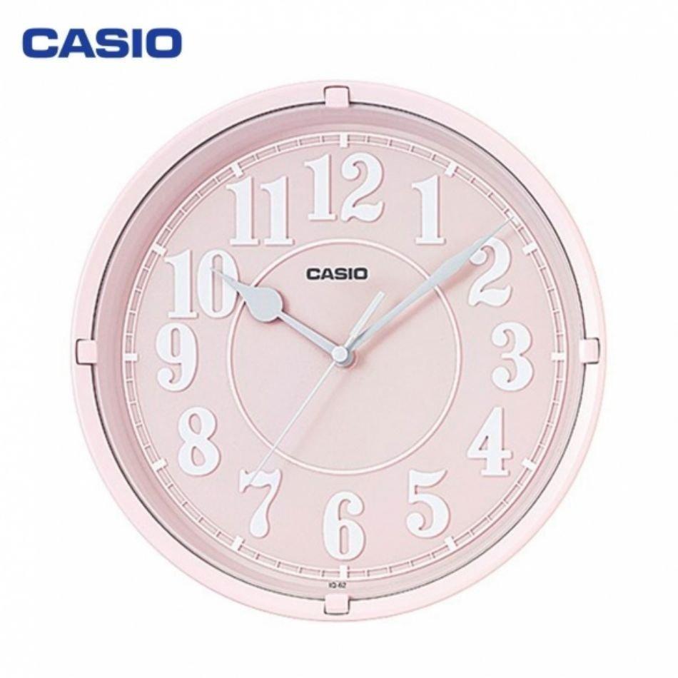 Reloj de pared CASIO IQ-62-4DF
