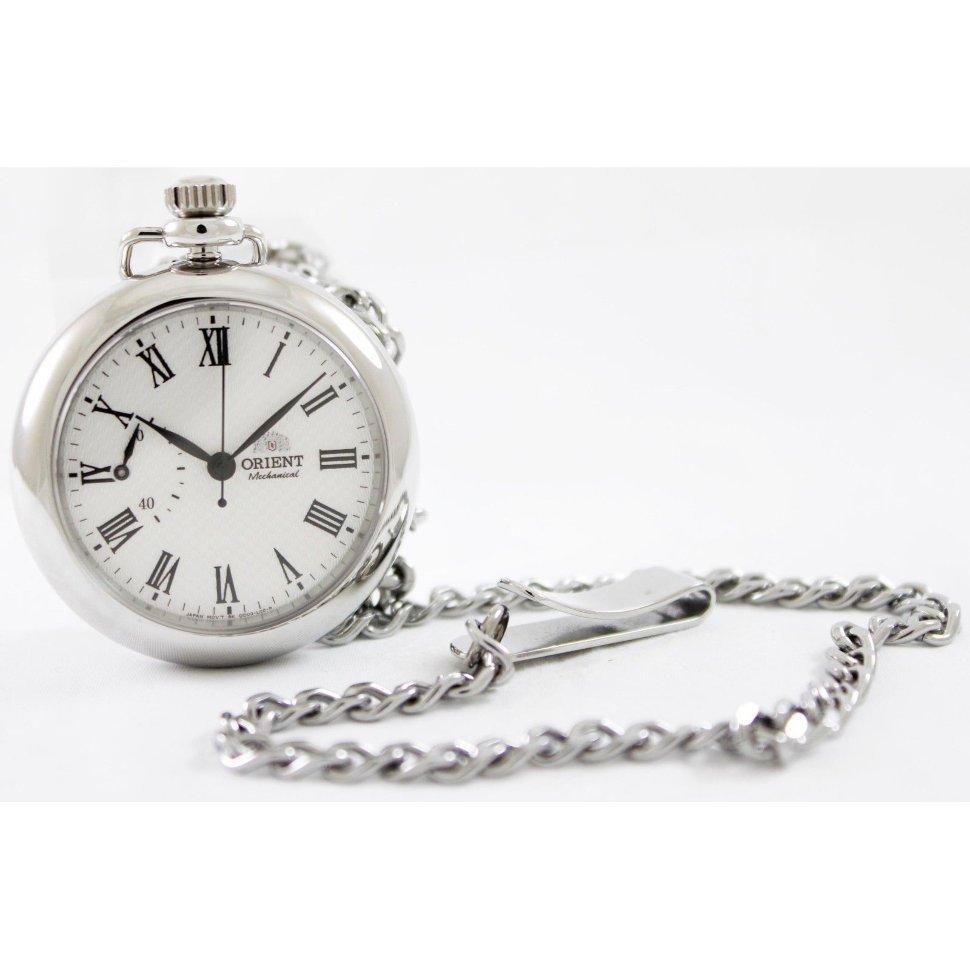 Reloj de bolsillo mecánico ORIENT WORLD STAGE FDD00002W Collection pocket watch hand winding sapphire glass FDD00002W