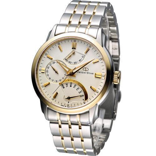 Reloj hombre automático Orient Star Power Reserve SDE00001W Men's Watch