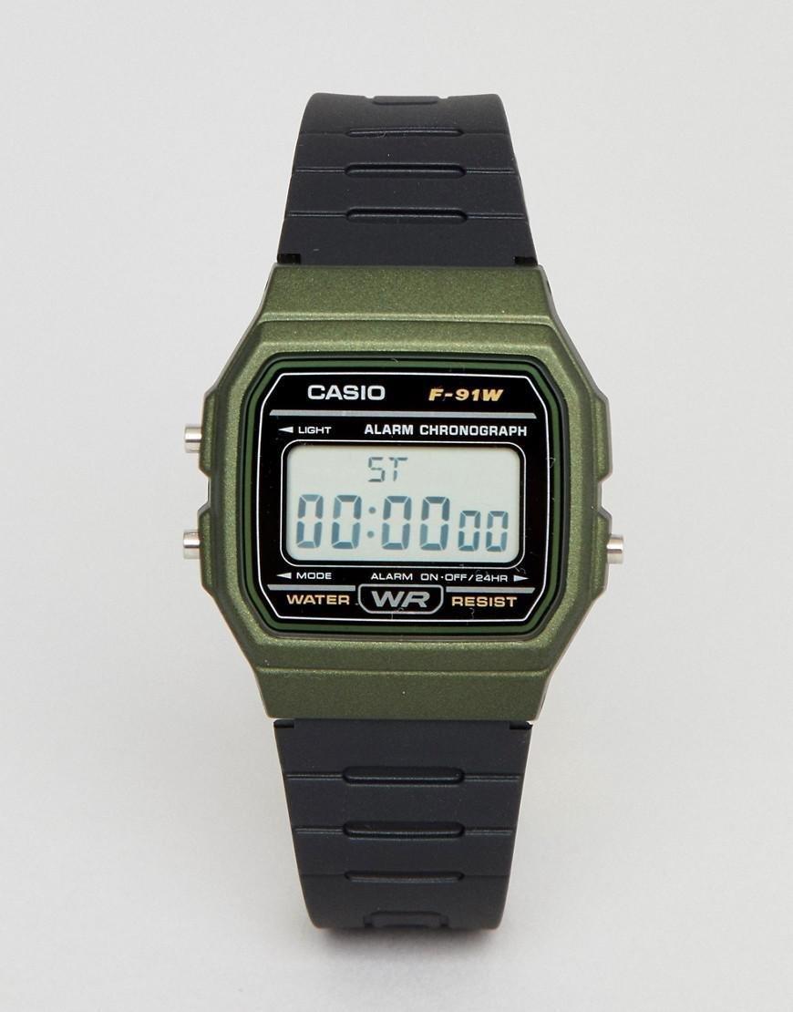 Reloj CASIO digital F-91WM-3A  100% original