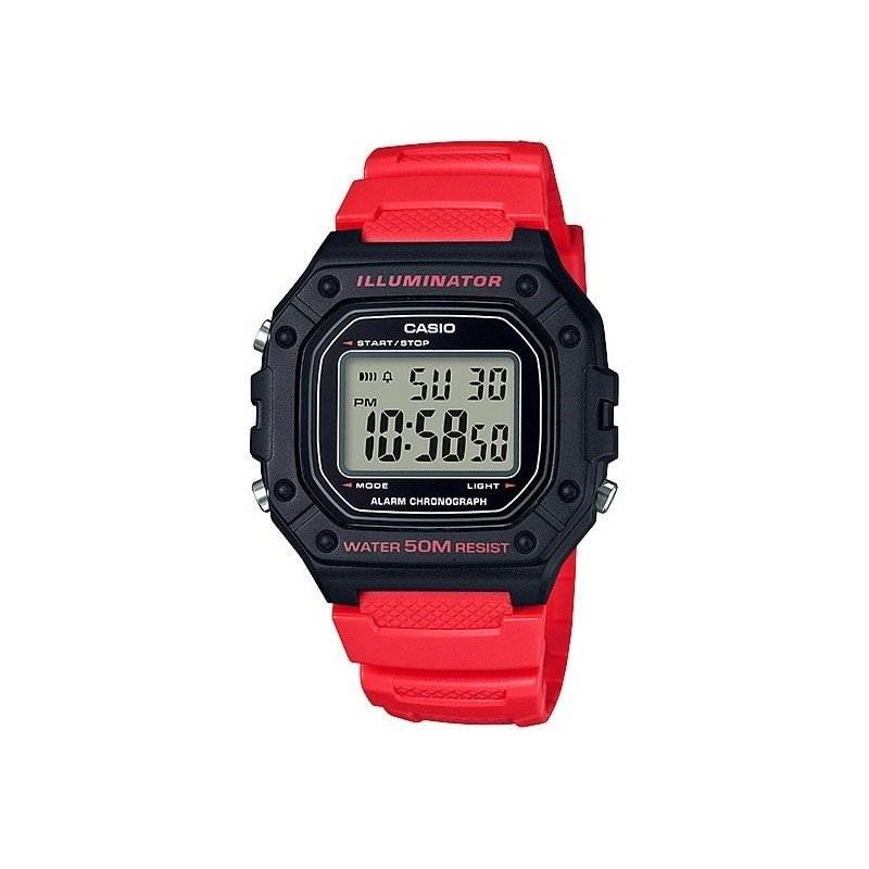 Reloj CASIO digital caballero W-218h-4bv CASIO
