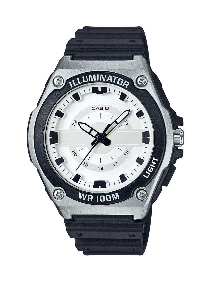Reloj analogico mwc-100h-7av CASIO caballero resistente 100 metros