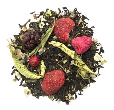 Blackberry Tango | Schwarztee mit Rote Früchte Geschmack