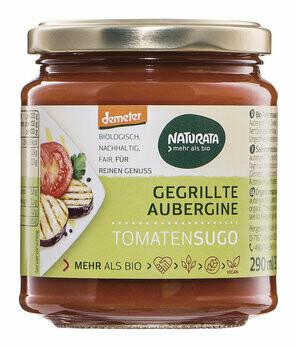 Tomatensugo mit gegrillter Aubergine demeter, 290 ml