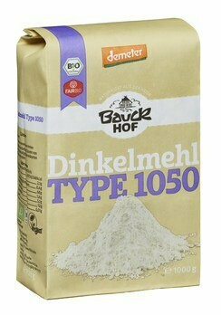 Dinkelmehl Type 1050 demeter, 1 kg