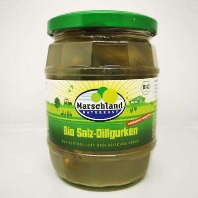 Salz-Dillgurken milchsauer vergoren,  520 g