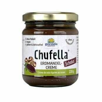 Chufella Erdmandel-Schoko-Creme, 220 g