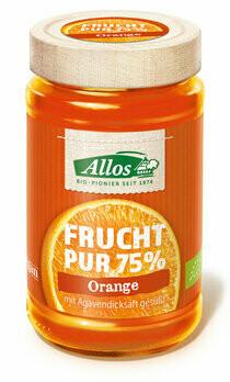 Frucht Pur 75% Aufstrich Orange, 250 g