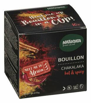 Bouillon Chakalaka - hot & spicy, 10 x 5g