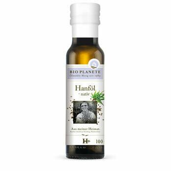 Hanföl nativ aus deutscher Herkunft, 100 ml