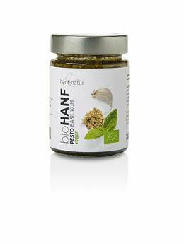 Hanfpesto Basilikum, 150 g
