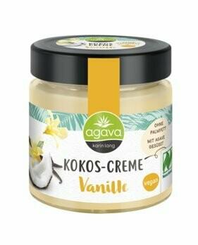 Kokos-Creme, Vanille, 200 g