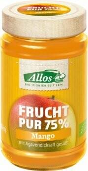 Frucht Pur 75% Aufstrich Mango, 250 g