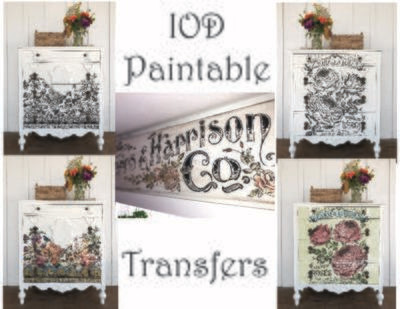 Iron Orchid Designs Paintable Transfers
