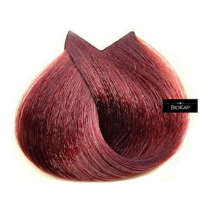 Biokap. Краска для волос тон 7.5 «Махагон» (коричневато-красный), 140 мл