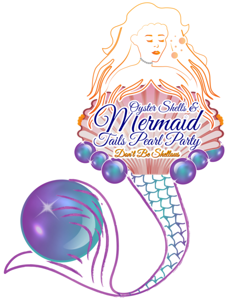 Oyster Shells and Mermaid Tails Pearl Party