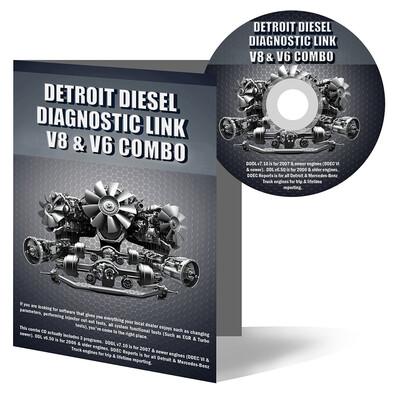 Detroit Diesel Diagnostic Link v8.X & v6.X Combo Standard License - 12 Month License