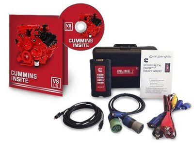 Cummins Insite Engine Diagnostic Software Lite with Cummins Inline 7